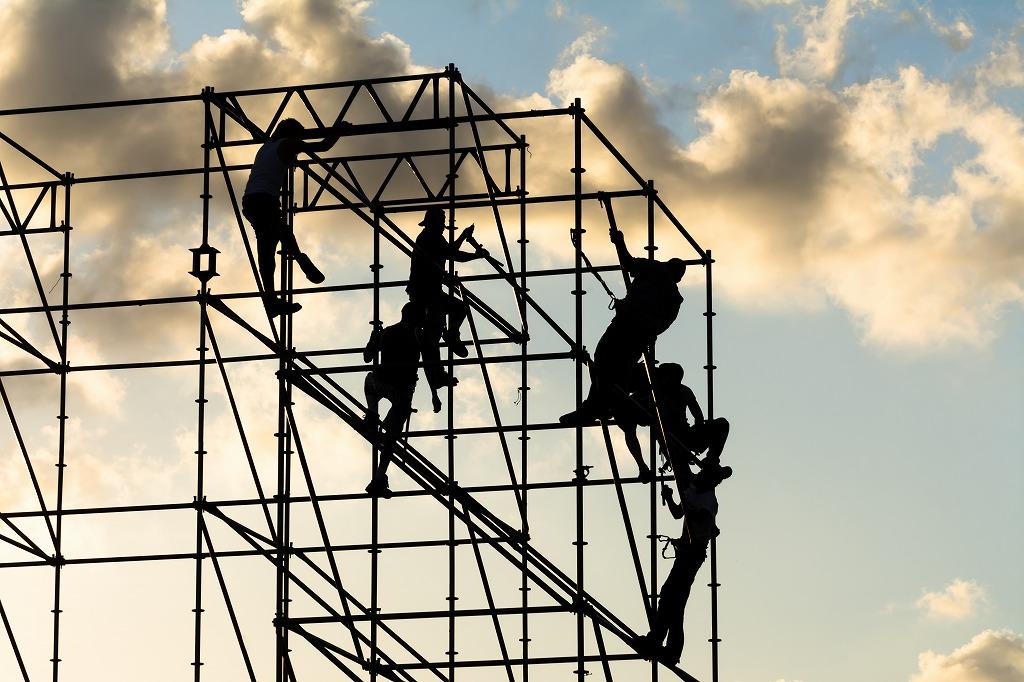 ビルやマンションの修繕や改修の足場工事に大切なこと